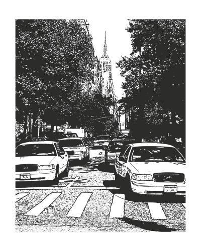 New York Minute I-Boyce Watt-Art Print