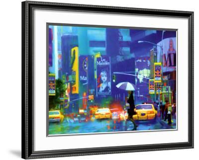 New York Minute-Richard M^ Swiatlowski-Framed Art Print