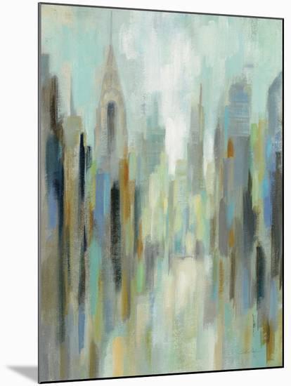 New York Morning I-Silvia Vassileva-Mounted Art Print