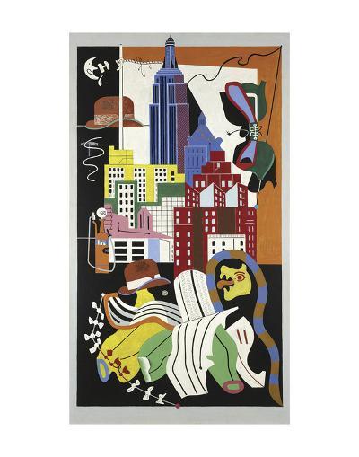 New York Mural, 1932-Stuart Davis-Art Print