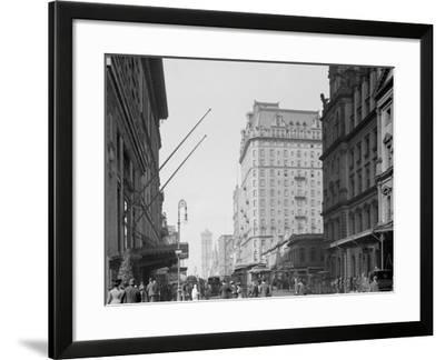New York, N.Y., 42nd St., Looking West--Framed Photo