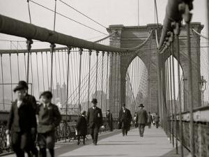 New York, N.Y. Brooklyn Bridge