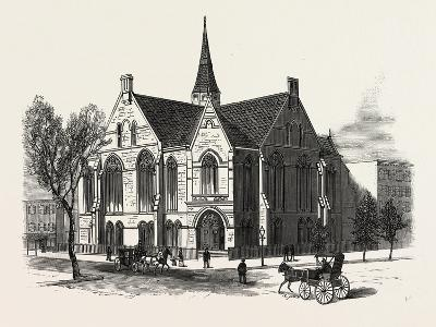 New York: New First Baptist Church on Pierrepont Street Brooklyn--Giclee Print
