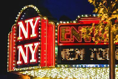 New York New York - Casino - Las Vegas - Nevada - United States-Philippe Hugonnard-Photographic Print