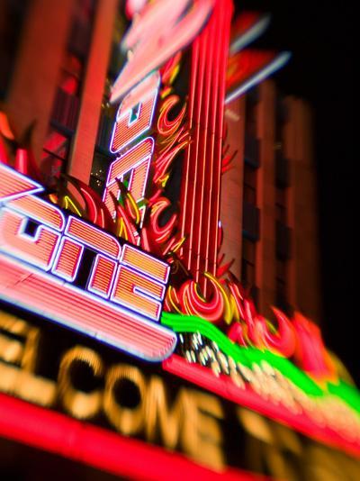 New York, New York Casino, Las Vegas, Nevada, USA-Walter Bibikow-Photographic Print
