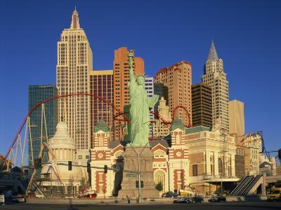 New York New York Hotel in Las Vegas, Nevada, United States of America, North America--Photographic Print