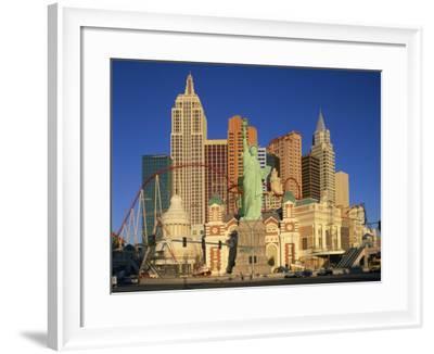 New York New York Hotel in Las Vegas, Nevada, United States of America, North America--Framed Photographic Print