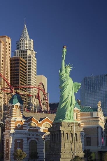 New York New York Hotel, the Statue of Liberty, Strip, Las Vegas, Nevada, Usa-Rainer Mirau-Photographic Print