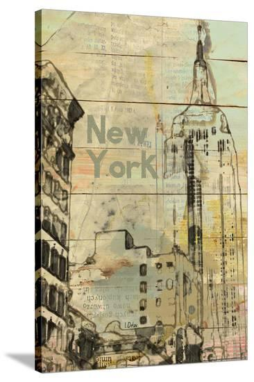 New York, New York--Stretched Canvas Print