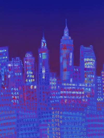 New York, New York-Diana Ong-Giclee Print