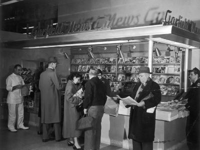 New York Newstand 1951--Photographic Print
