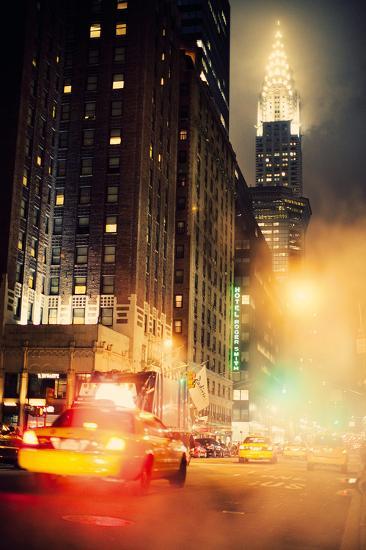 New York Night-Irene Suchocki-Giclee Print