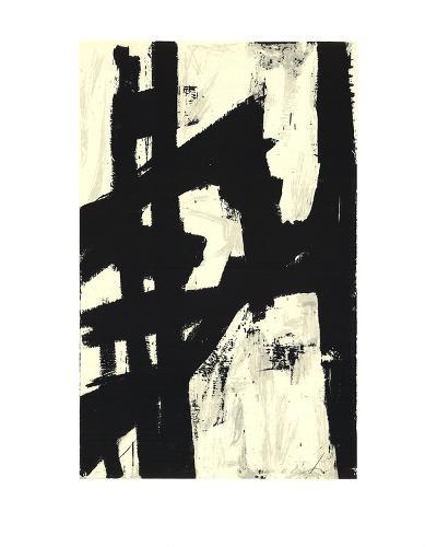 New York, NY-Franz Kline-Serigraph