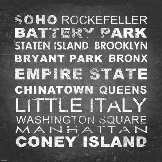 New York Places II-Veruca Salt-Art Print