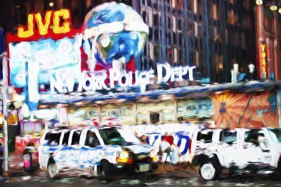 New York Police - In the Style of Oil Painting-Philippe Hugonnard-Giclee Print