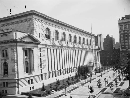 New York Public Library, C.1910--Photographic Print