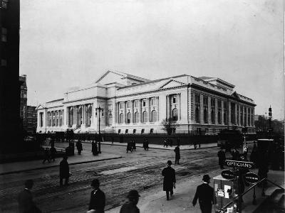 New York Public Library Main Branch-FPG-Photographic Print