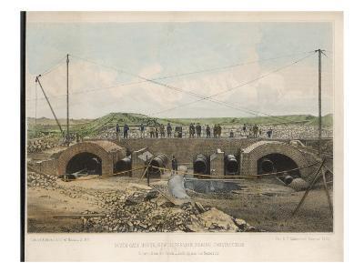 New York Reservoir--Giclee Print
