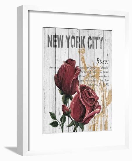 New York Roses-Alicia Soave-Framed Art Print