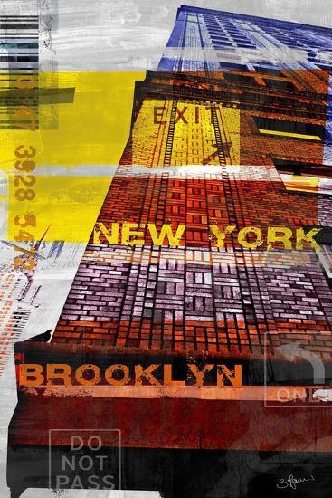 New York Sky III-Sven Pfrommer-Art Print