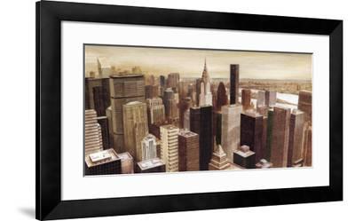 New York Skyline I-G.p. Mepas-Framed Art Print