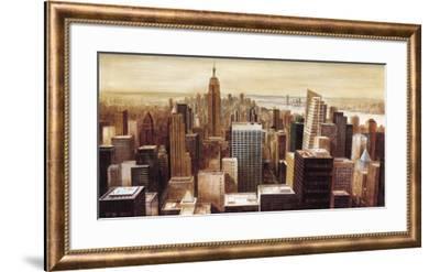 New York Skyline II-G.p. Mepas-Framed Art Print