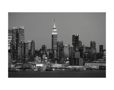 New York Skyline-Chris Bliss-Art Print
