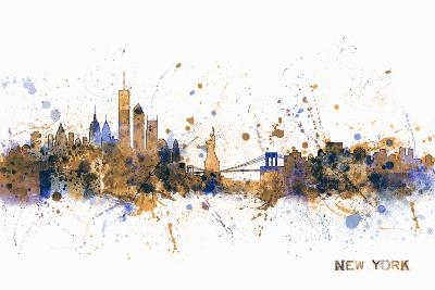 New York Skyline-Michael Tompsett-Art Print