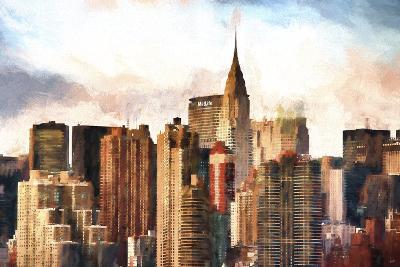 New York Skyscrapers-Philippe Hugonnard-Giclee Print