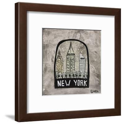 New York Snow Globe-Brian Nash-Framed Art Print