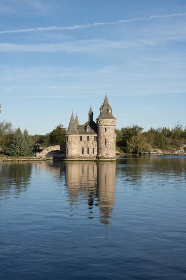 New York, St. Lawrence Seaway. Boldt Castle on Heart Island.-Cindy Miller Hopkins-Photographic Print