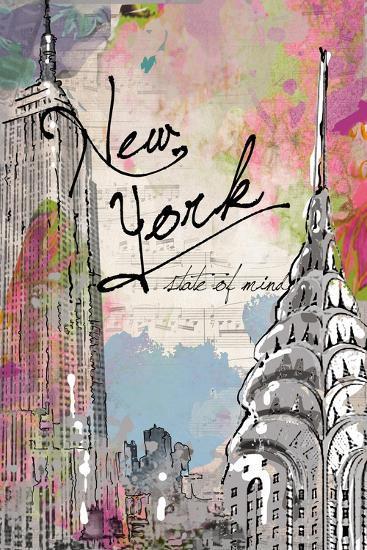 New York State of Mind-Jodi Pedri-Art Print