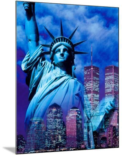 New York, Statue of Liberty--Mounted Print
