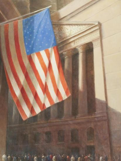 New York Stock Exchange, 2010-Lincoln Seligman-Giclee Print