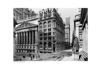New York Stock Exchange, c.1921--Art Print