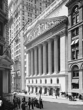 New York Stock Exchange, N.Y., C.1904