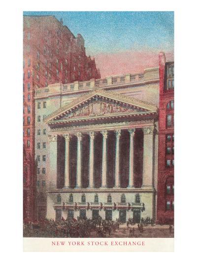 New York Stock Exchange, New York City--Art Print
