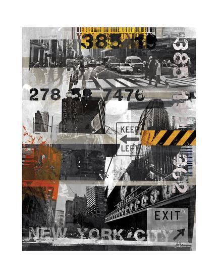 New York Style XI-Sven Pfrommer-Art Print