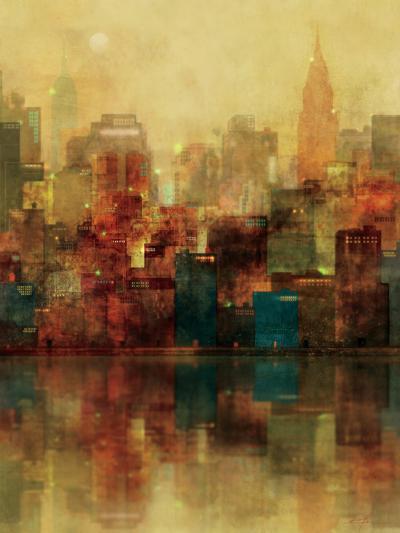 New York Sunshine-Ken Roko-Premium Giclee Print