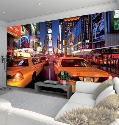 New York Times Square Wallpaper Mural
