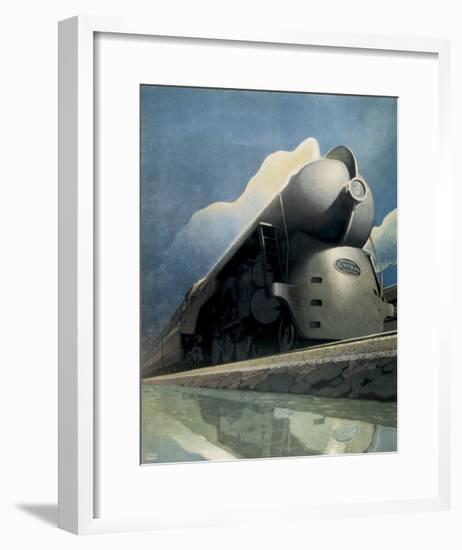 New York to Chicago-Leslie Ragan-Framed Art Print