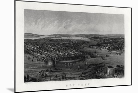 New York, United States of America, 1883-G Greatbach-Mounted Giclee Print