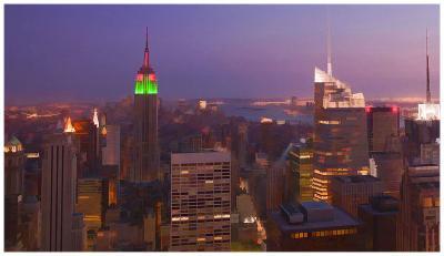New York view 2-Jefd-Art Print