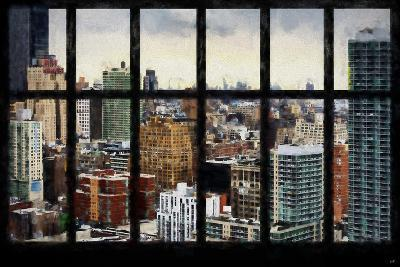 New York View from the Window-Philippe Hugonnard-Giclee Print