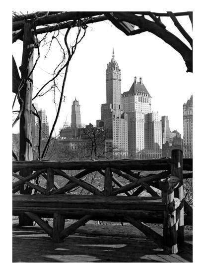New York view-Underwood-Giclee Print