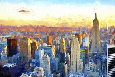 New York View-Philippe Hugonnard-Giclee Print