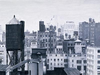 New York Water Towers, 2002-Max Ferguson-Giclee Print