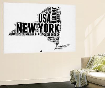 New York Word Cloud 2-NaxArt-Wall Mural
