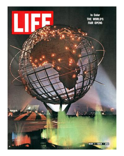 New York World's Fair, May 1, 1964-George Silk-Photographic Print