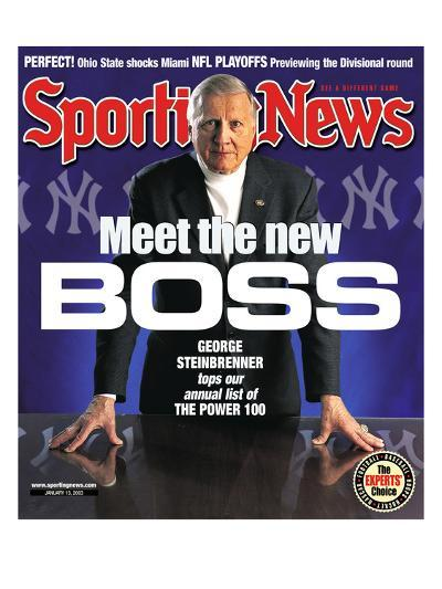 New York Yankees Owner George Steinbrenner - January 13, 2003--Photo